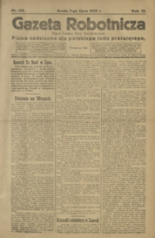 Gazeta Robotnicza, 1920, R. 25, nr 150