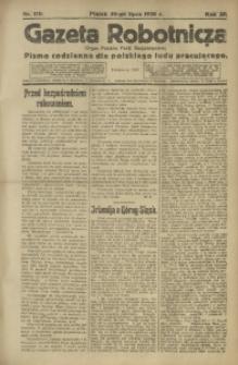 Gazeta Robotnicza, 1920, R. 25, nr 170