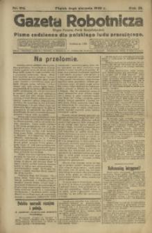 Gazeta Robotnicza, 1920, R. 25, nr 176