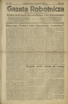 Gazeta Robotnicza, 1920, R. 25, nr 215