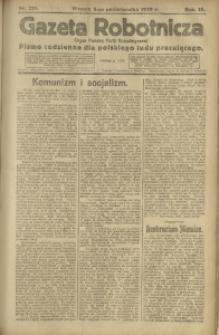 Gazeta Robotnicza, 1920, R. 25, nr 223