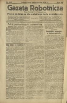 Gazeta Robotnicza, 1920, R. 25, nr 245