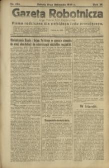 Gazeta Robotnicza, 1920, R. 25, nr 254