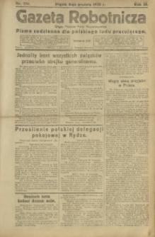 Gazeta Robotnicza, 1920, R. 25, nr 270