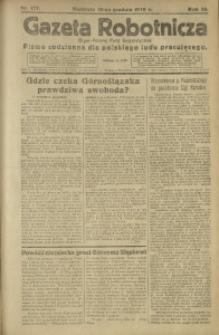 Gazeta Robotnicza, 1920, R. 25, nr 277