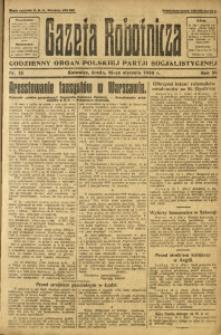 Gazeta Robotnicza, 1924, R. 29, nr 13