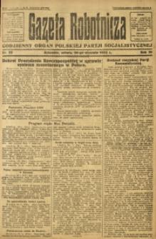 Gazeta Robotnicza, 1924, R. 29, nr 22
