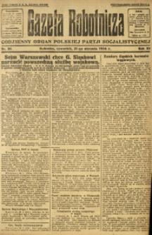 Gazeta Robotnicza, 1924, R. 29, nr 26