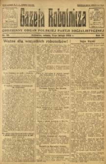 Gazeta Robotnicza, 1924, R. 29, nr 33