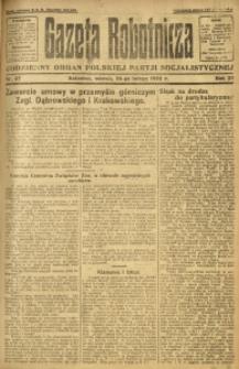 Gazeta Robotnicza, 1924, R. 29, nr 47
