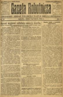 Gazeta Robotnicza, 1924, R. 29, nr 51