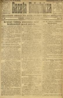 Gazeta Robotnicza, 1924, R. 29, nr 59