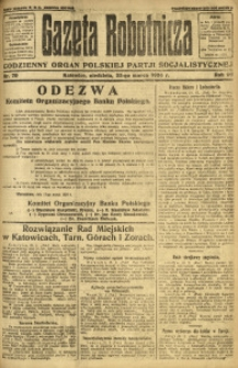 Gazeta Robotnicza, 1924, R. 29, nr 70