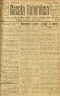 Gazeta Robotnicza, 1924, R. 29, nr 91