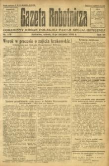 Gazeta Robotnicza, 1924, R. 29, nr 176