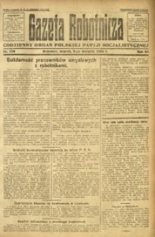 Gazeta Robotnicza, 1924, R. 29, nr 178