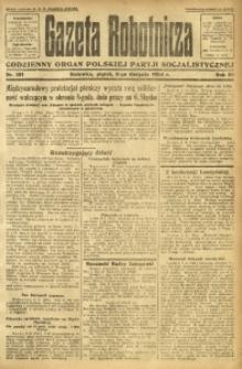 Gazeta Robotnicza, 1924, R. 29, nr 181