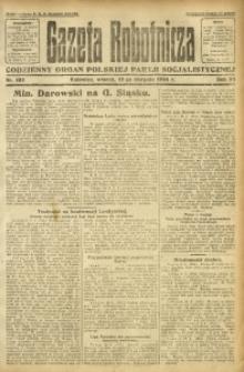 Gazeta Robotnicza, 1924, R. 29, nr 184