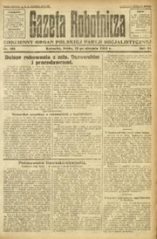 Gazeta Robotnicza, 1924, R. 29, nr 185