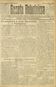 Gazeta Robotnicza, 1924, R. 29, nr 192