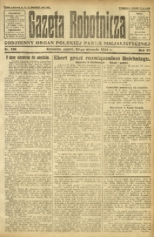 Gazeta Robotnicza, 1924, R. 29, nr 198