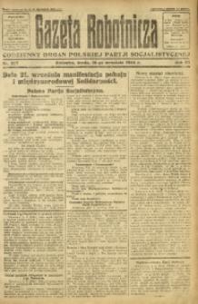 Gazeta Robotnicza, 1924, R. 29, nr 207