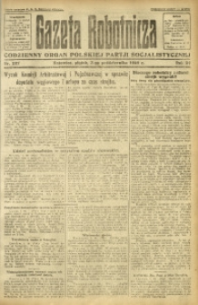 Gazeta Robotnicza, 1924, R. 29, nr 227