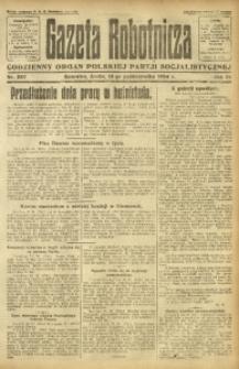 Gazeta Robotnicza, 1924, R. 29, nr 237