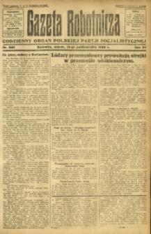 Gazeta Robotnicza, 1924, R. 29, nr 240
