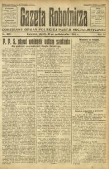 Gazeta Robotnicza, 1924, R. 29, nr 251