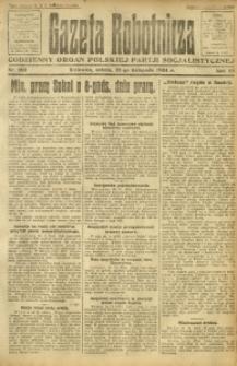 Gazeta Robotnicza, 1924, R. 29, nr 269