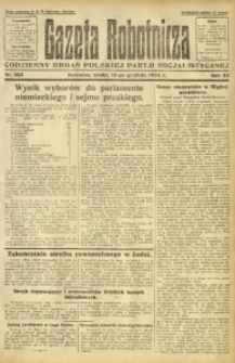 Gazeta Robotnicza, 1924, R. 29, nr 283