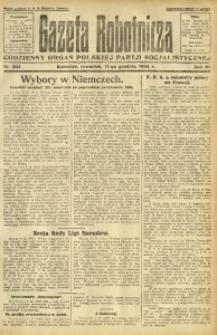 Gazeta Robotnicza, 1924, R. 29, nr 284