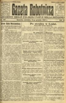 Gazeta Robotnicza, 1924, R. 29, nr 287