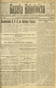 Gazeta Robotnicza, 1924, R. 29, nr 289
