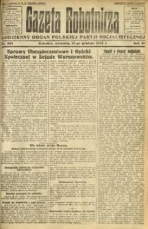 Gazeta Robotnicza, 1924, R. 29, nr 293