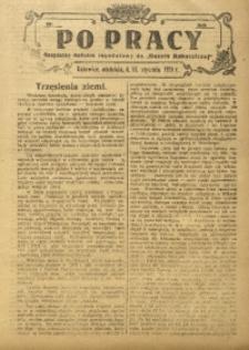 Po Pracy, 13 stycznia 1924