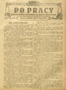 Po Pracy, 27 lipca 1924