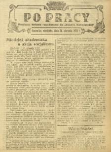 Po Pracy, 24 sierpnia 1924