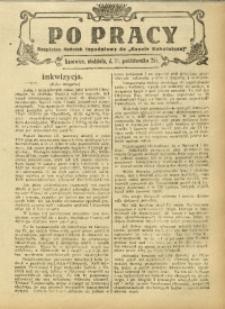 Po Pracy, 12 października 1924