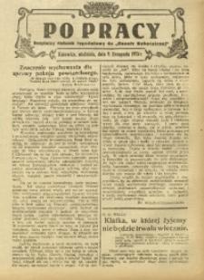 Po Pracy, 9 listopada 1924