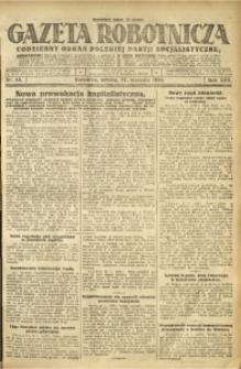 Gazeta Robotnicza, 1925, R. 30, nr 13