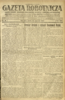 Gazeta Robotnicza, 1925, R. 30, nr 16