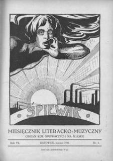 Śpiewak, 1926, R. 7, nr 3