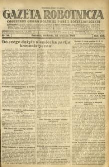 Gazeta Robotnicza, 1925, R. 30, nr 20
