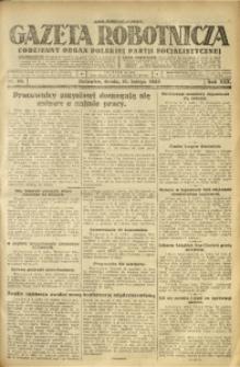 Gazeta Robotnicza, 1925, R. 30, nr 33