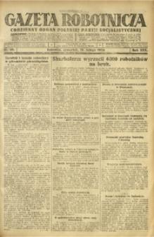 Gazeta Robotnicza, 1925, R. 30, nr 40