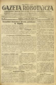 Gazeta Robotnicza, 1925, R. 30, nr 45