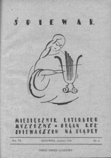 Śpiewak, 1926, R. 7, nr 6