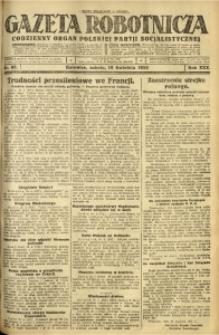 Gazeta Robotnicza, 1925, R. 30, nr 88